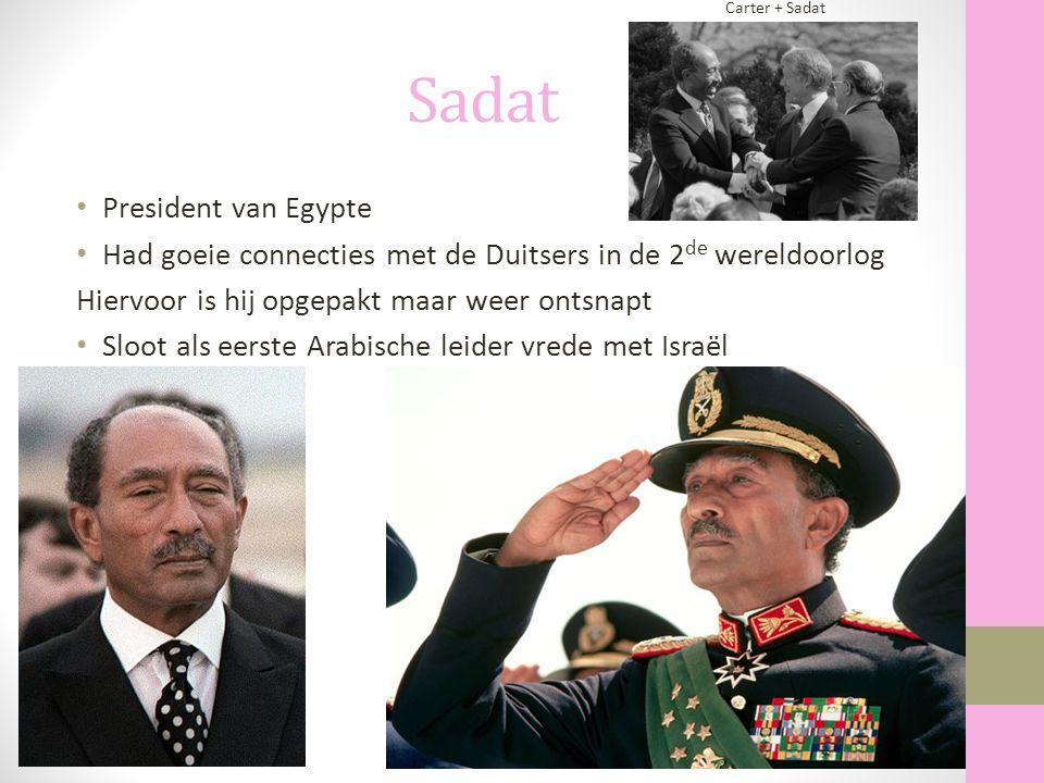 Sadat President van Egypte