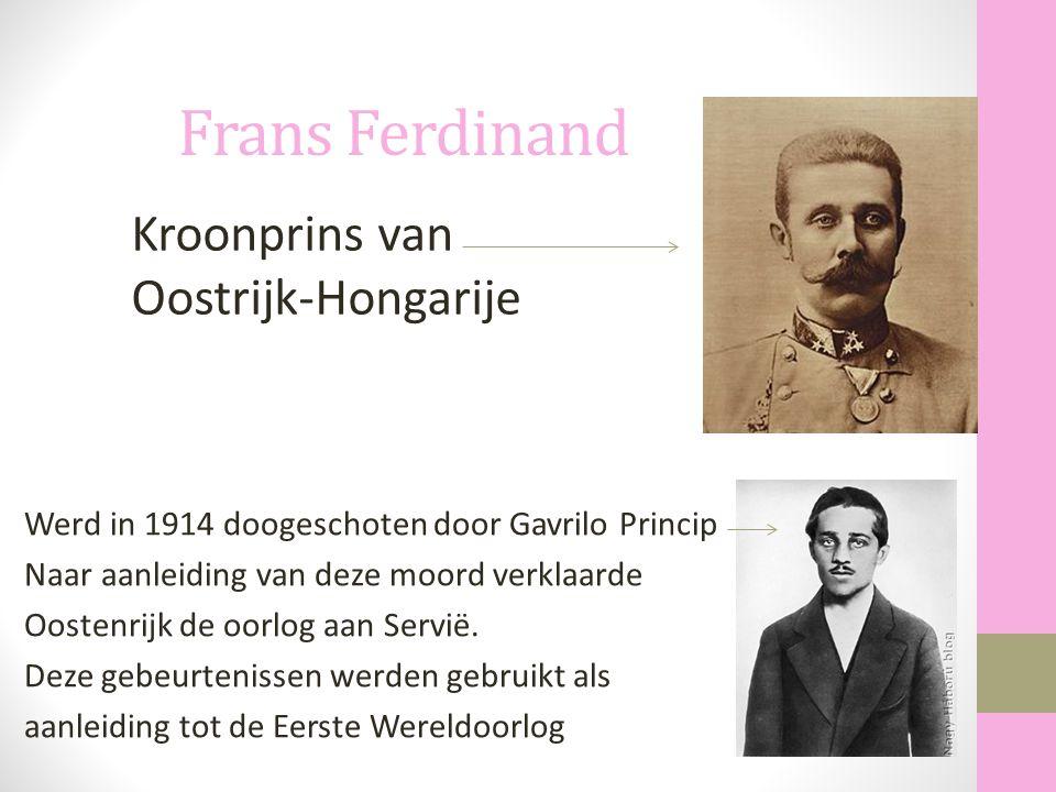 Frans Ferdinand Kroonprins van Oostrijk-Hongarije
