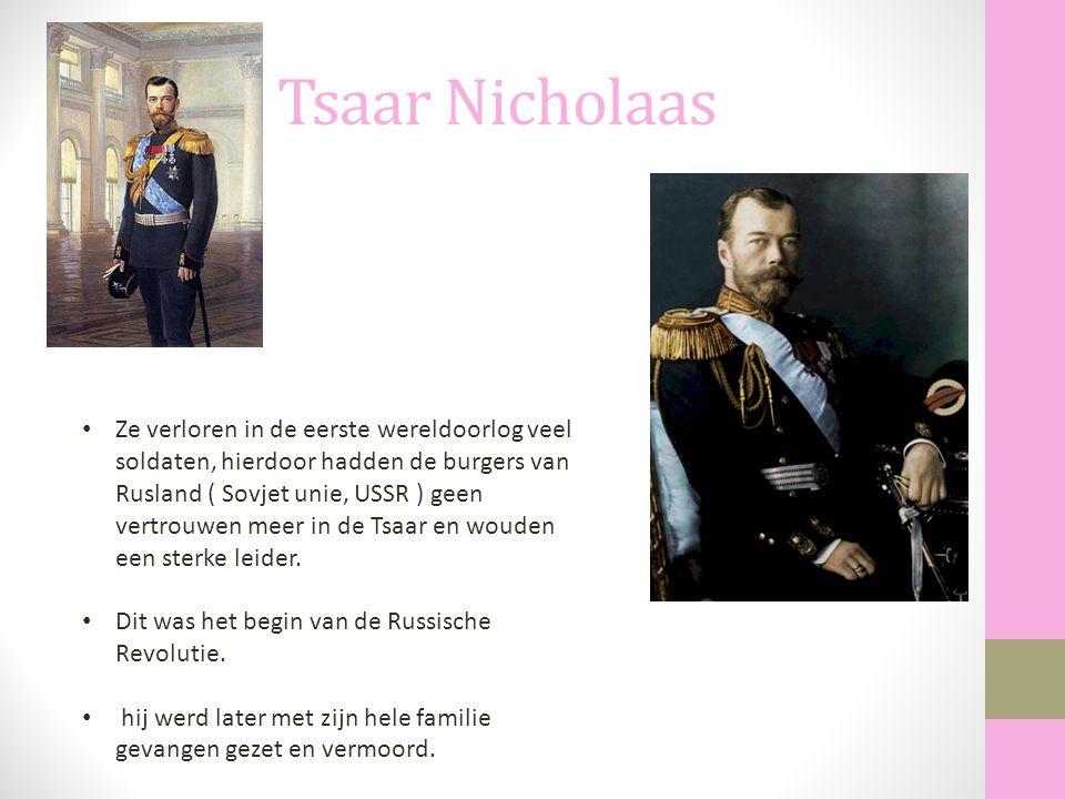 Tsaar Nicholaas
