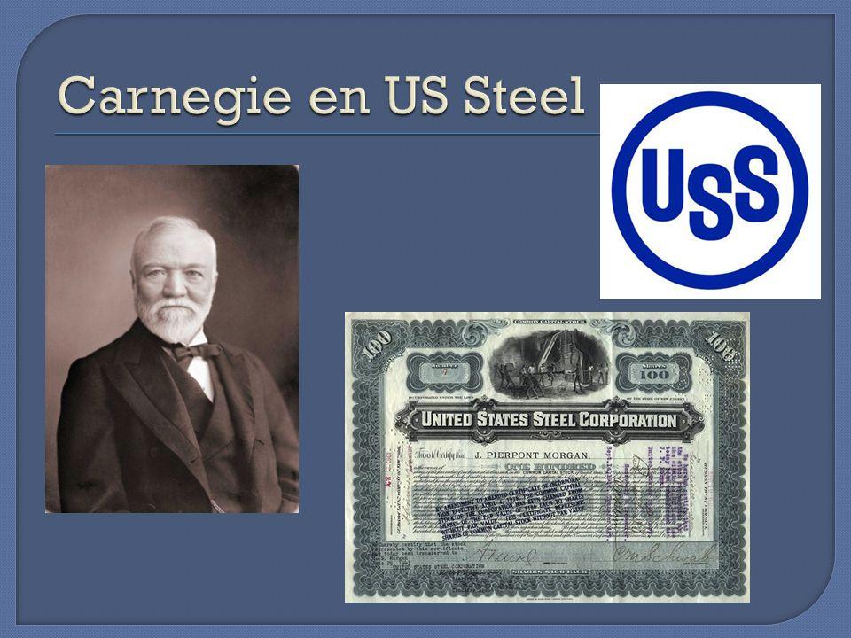 Carnegie en US Steel