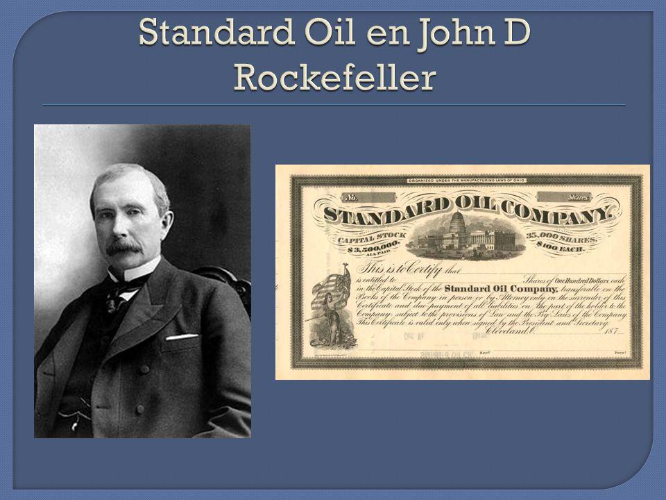 Standard Oil en John D Rockefeller