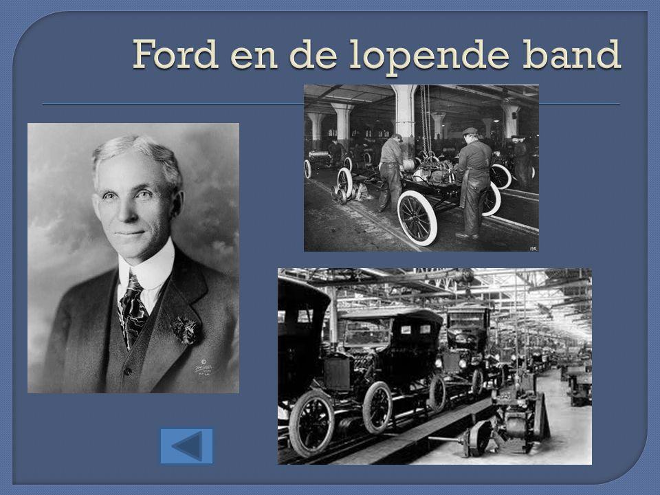 Ford en de lopende band