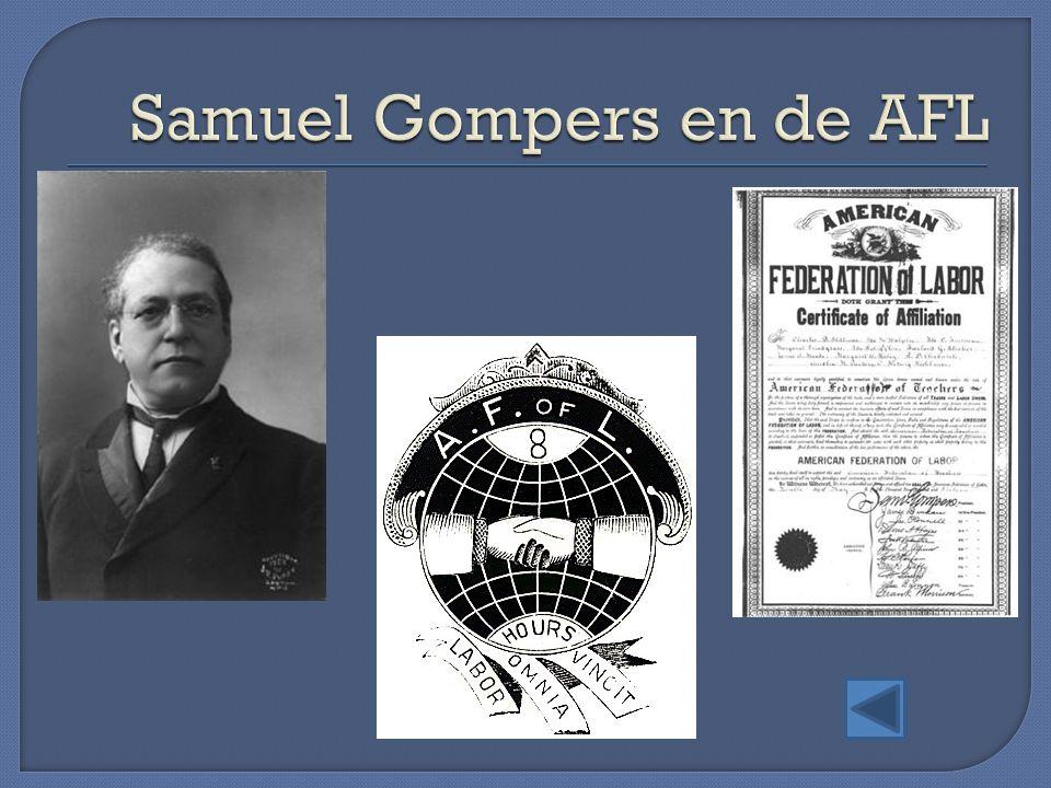 Samuel Gompers en de AFL