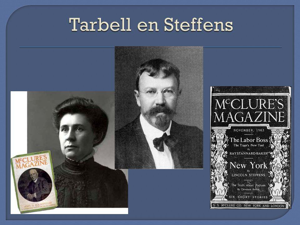 Tarbell en Steffens