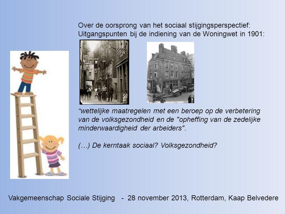 Over de oorsprong van het sociaal stijgingsperspectief:
