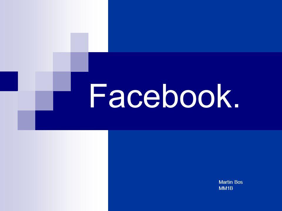 Facebook. Martin Bos MM1B