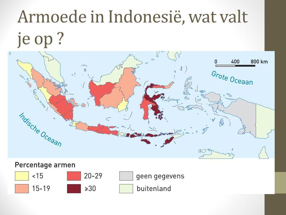 Armoede in Indonesië, wat valt je op