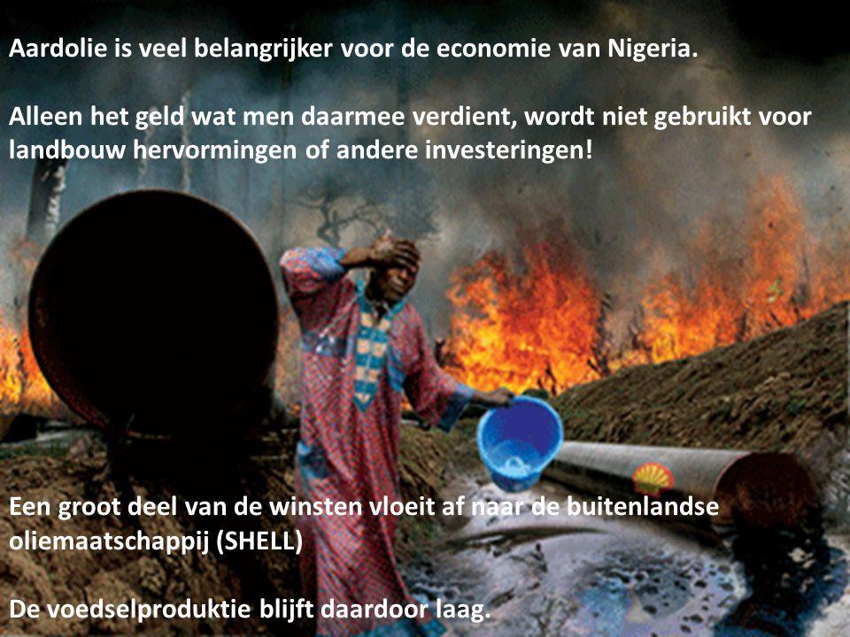 Aardolie is veel belangrijker voor de economie van Nigeria