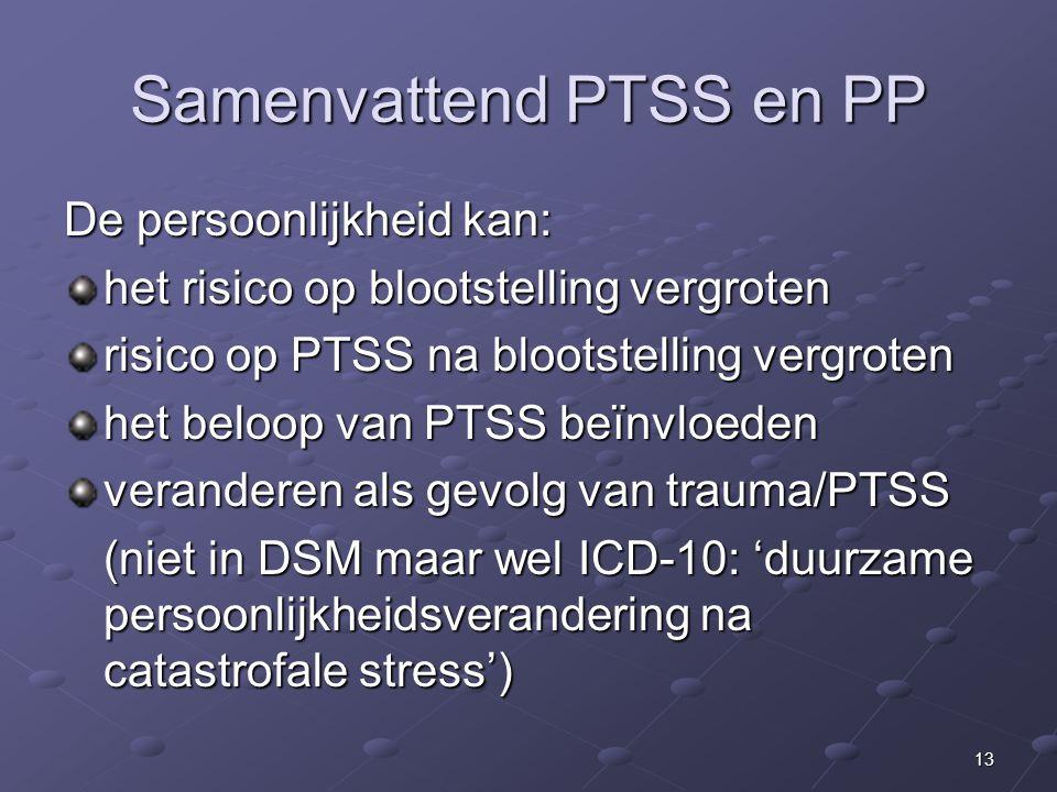 Samenvattend PTSS en PP