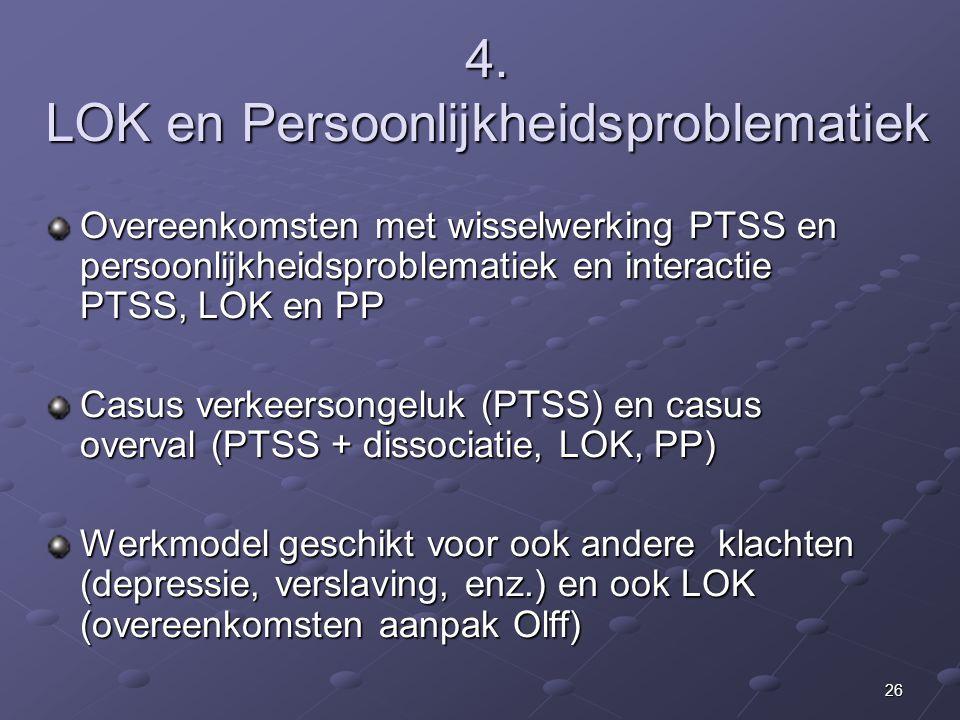 4. LOK en Persoonlijkheidsproblematiek