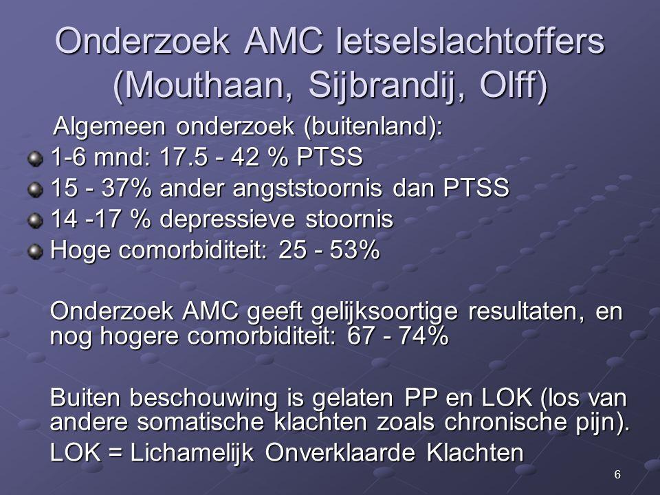 Onderzoek AMC letselslachtoffers (Mouthaan, Sijbrandij, Olff)