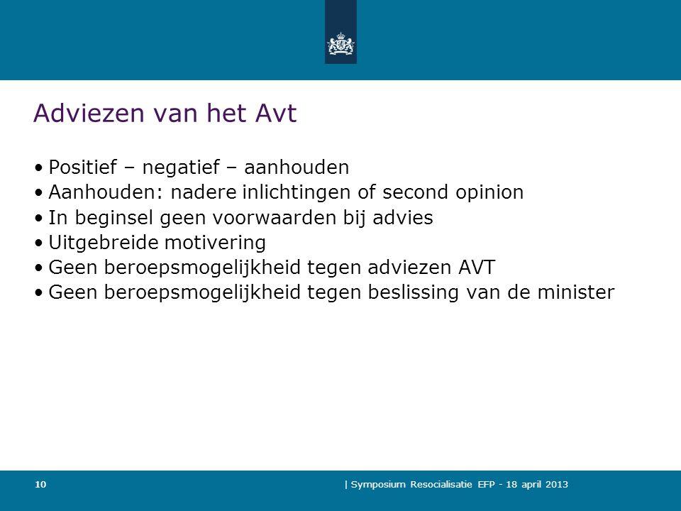Adviezen van het Avt Positief – negatief – aanhouden