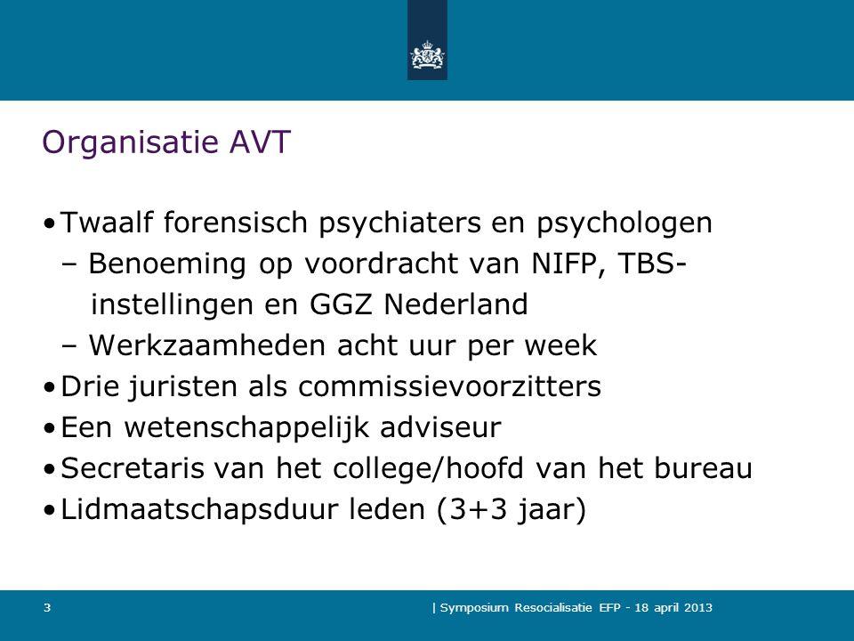 Organisatie AVT Twaalf forensisch psychiaters en psychologen