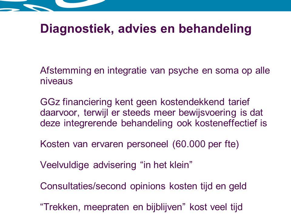 Diagnostiek, advies en behandeling