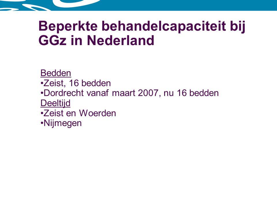 Beperkte behandelcapaciteit bij GGz in Nederland