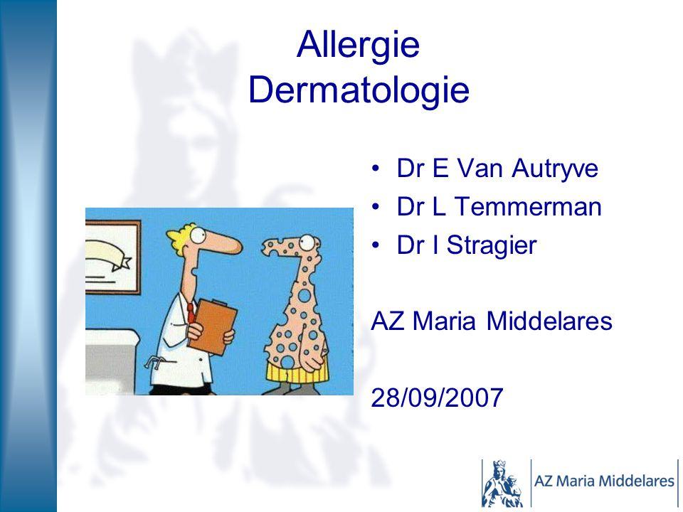 Allergie Dermatologie