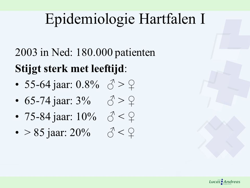 Epidemiologie Hartfalen I