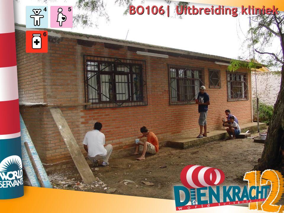 BO106| Uitbreiding kliniek