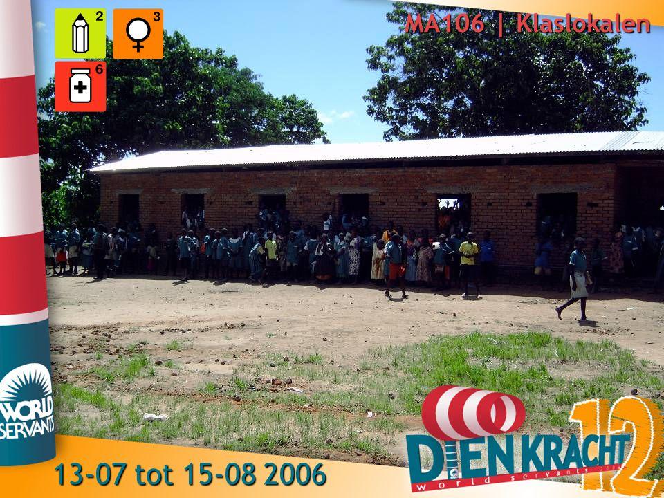 MA106 | Klaslokalen 13-07 tot 15-08 2006