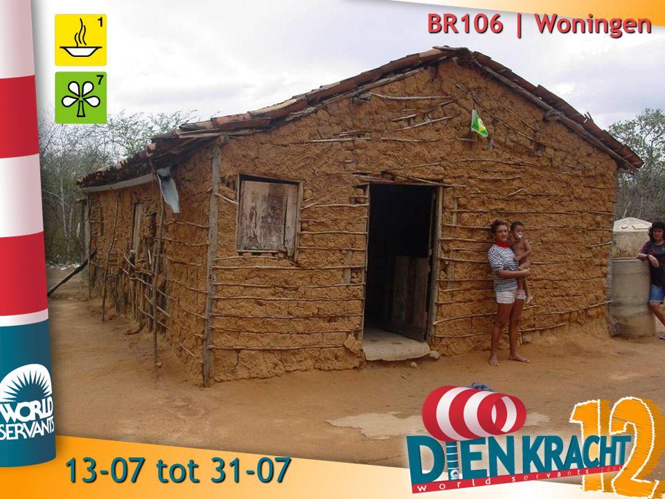 BR106 | Woningen 13-07 tot 31-07