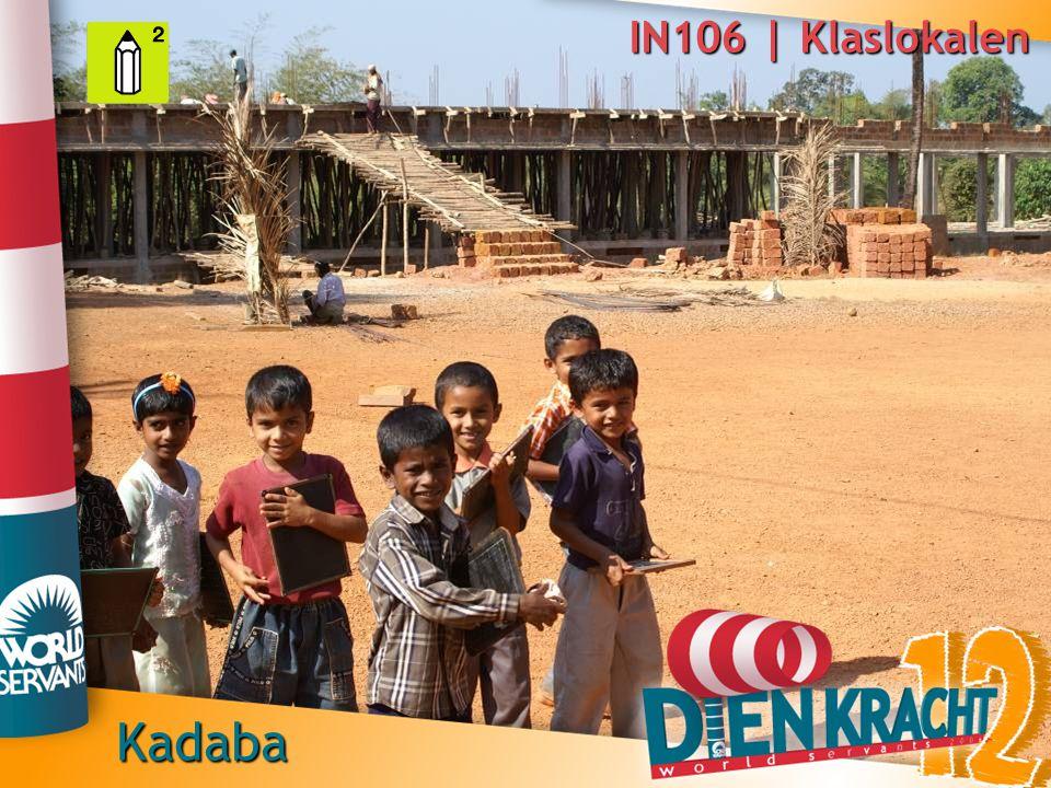 IN106 | Klaslokalen Kadaba