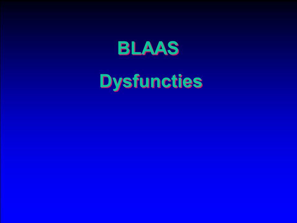 BLAAS Dysfuncties