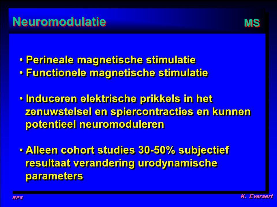 Neuromodulatie MS Perineale magnetische stimulatie