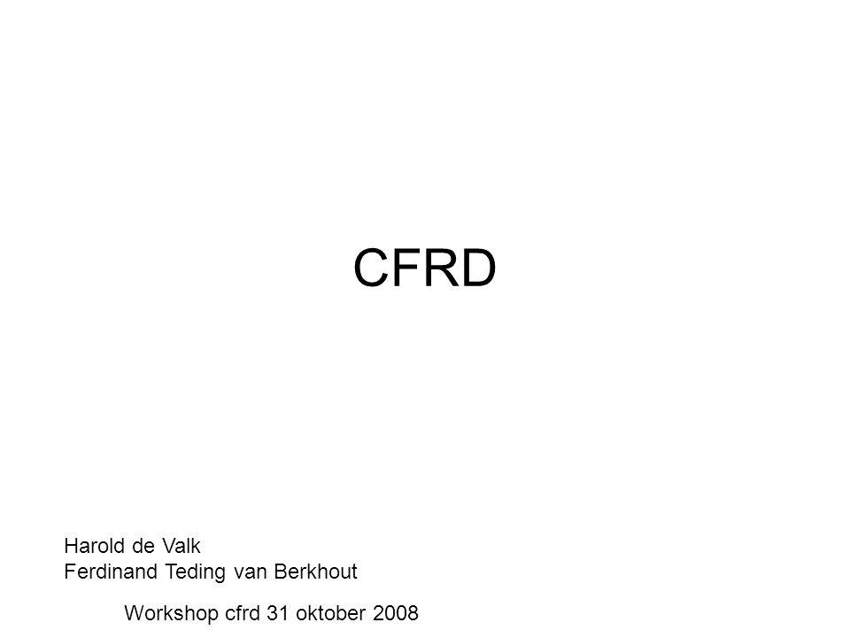 CFRD Harold de Valk Ferdinand Teding van Berkhout