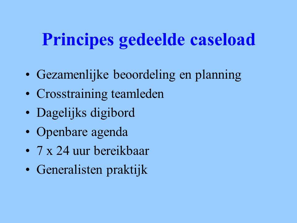 Principes gedeelde caseload