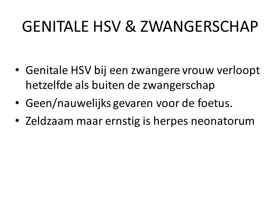 GENITALE HSV & ZWANGERSCHAP