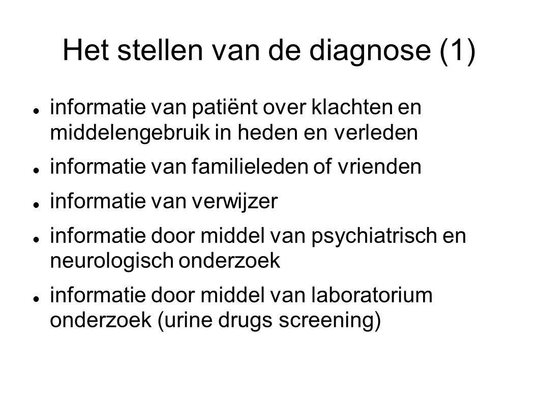 Het stellen van de diagnose (1)