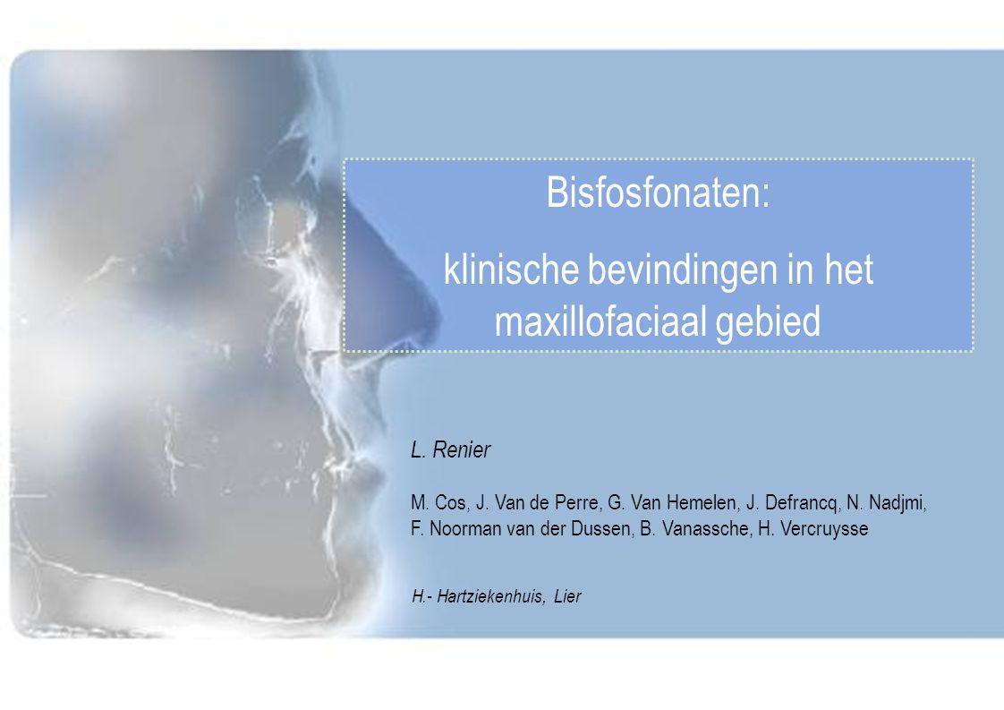 klinische bevindingen in het maxillofaciaal gebied