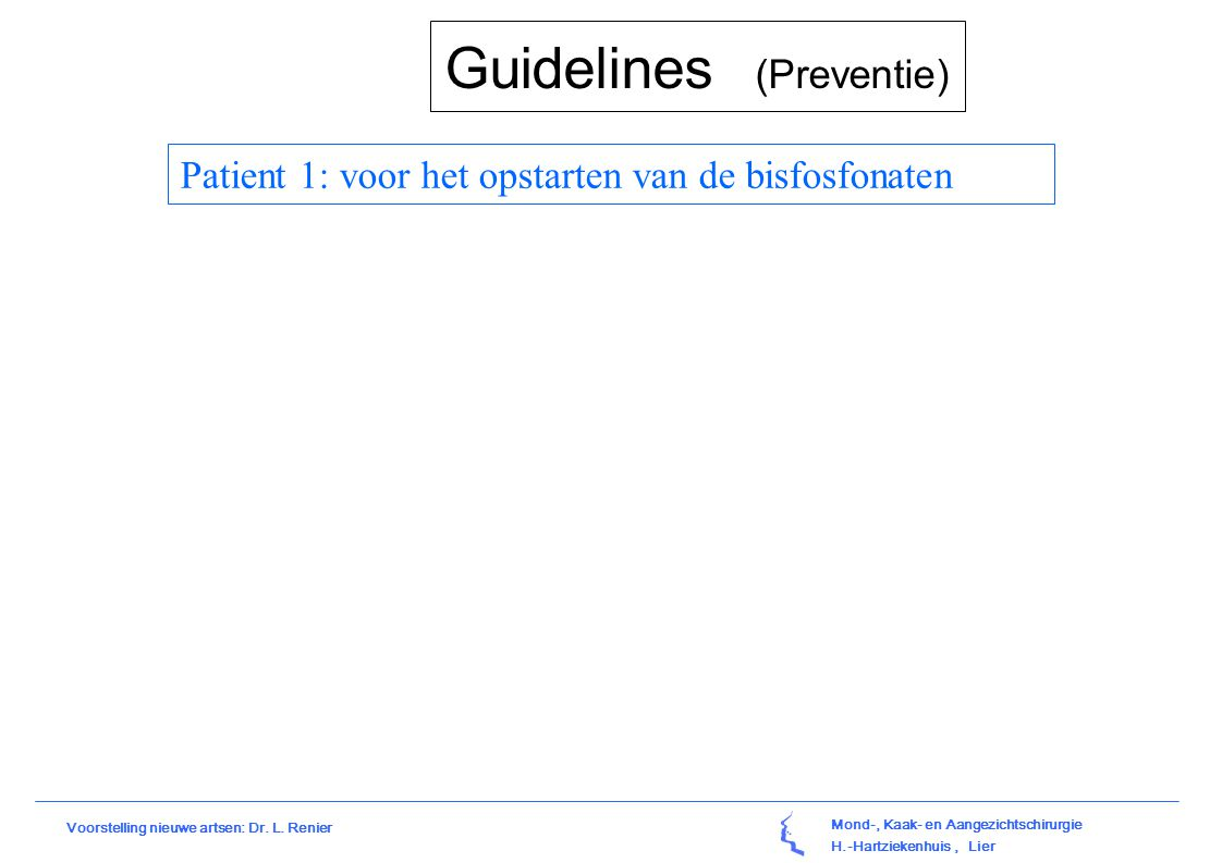 Guidelines (Preventie)