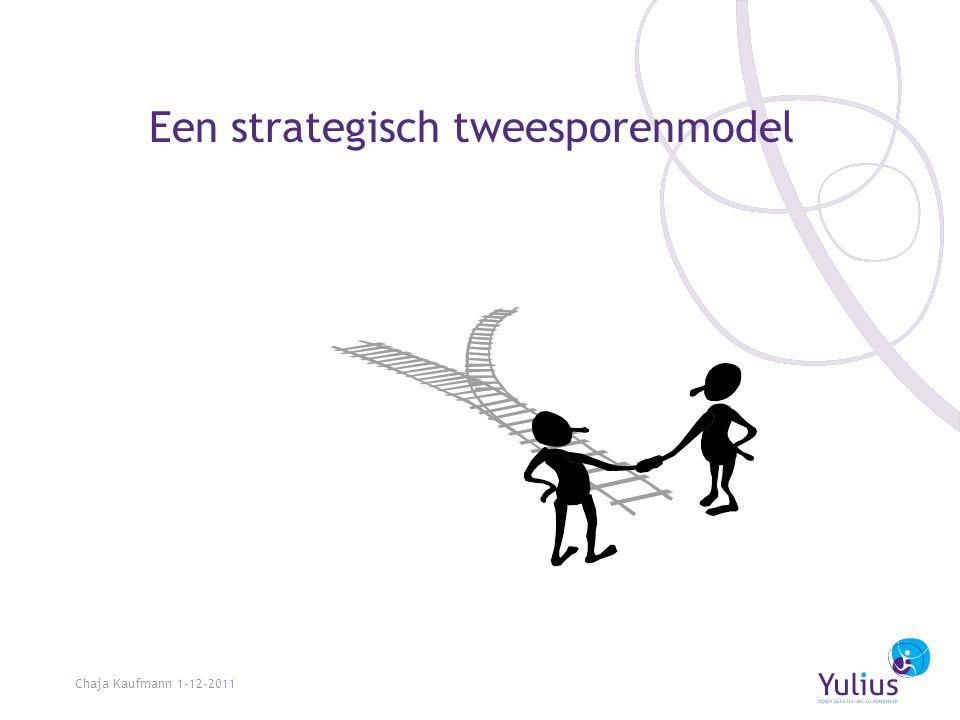 Een strategisch tweesporenmodel