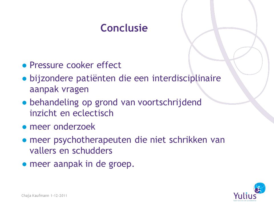 Conclusie Pressure cooker effect