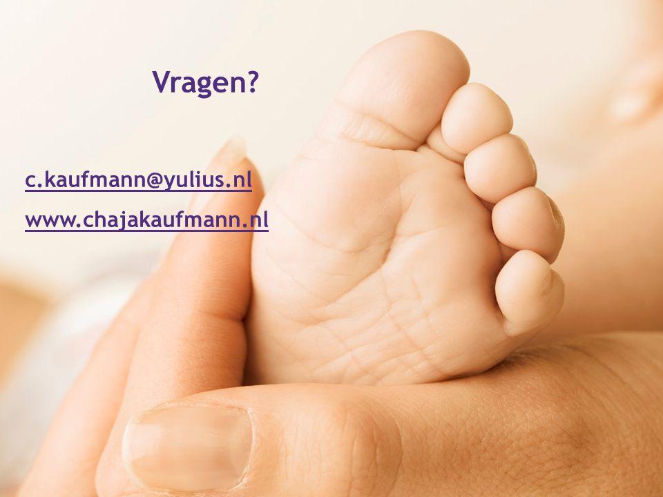 Vragen c.kaufmann@yulius.nl www.chajakaufmann.nl