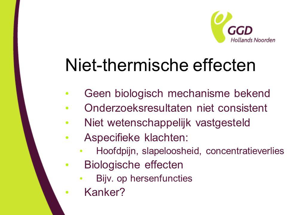 Niet-thermische effecten