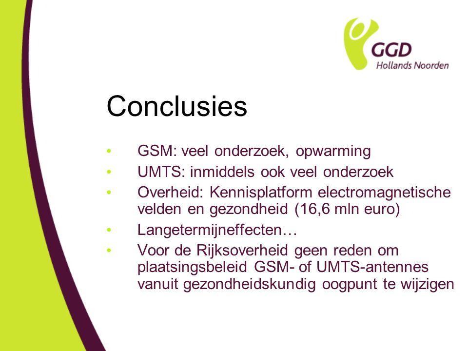 Conclusies GSM: veel onderzoek, opwarming
