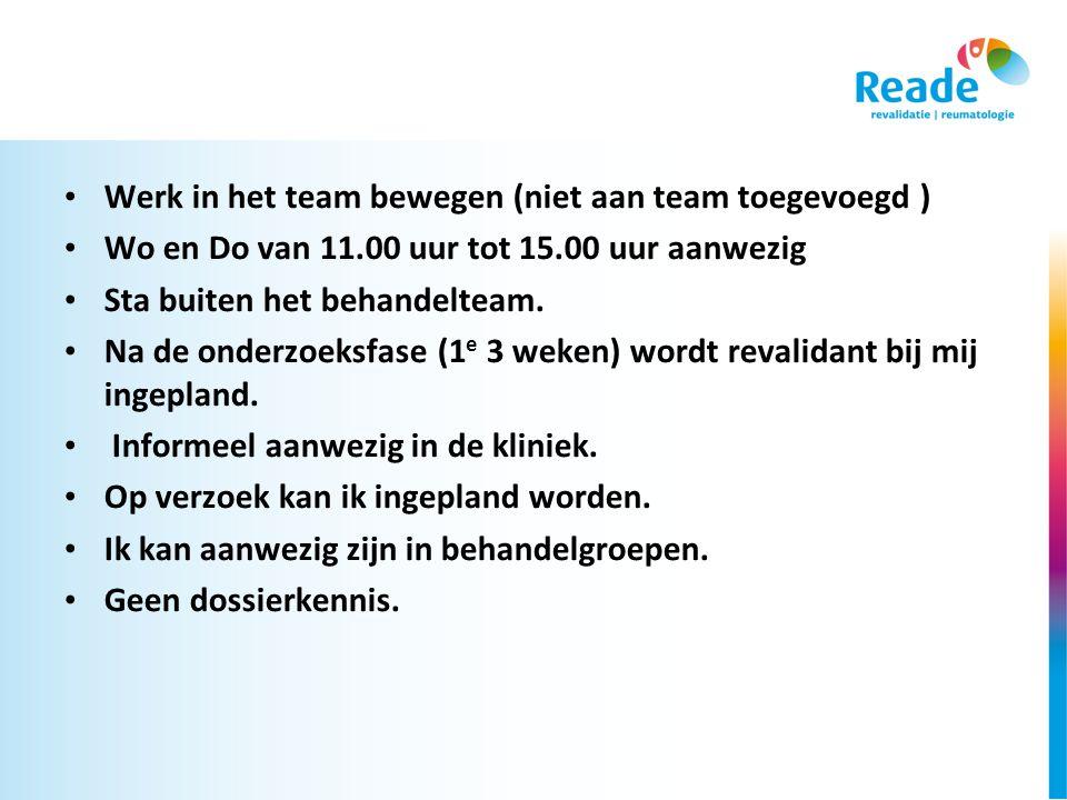 Werk in het team bewegen (niet aan team toegevoegd )