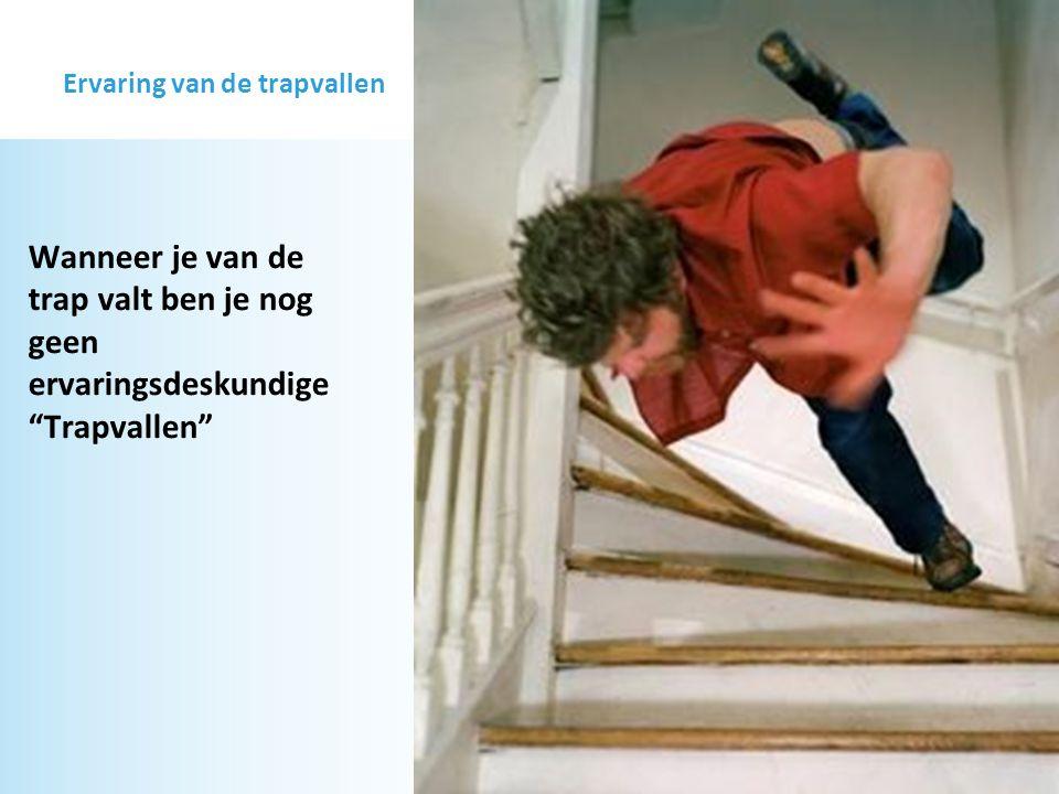 Ervaring van de trapvallen