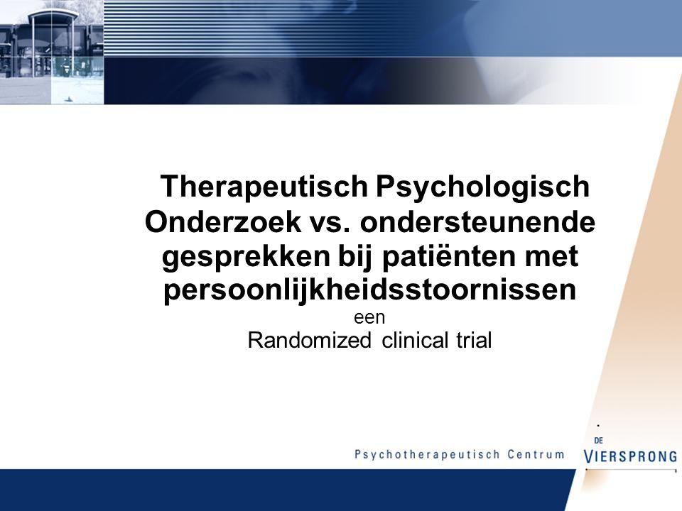 Therapeutisch Psychologisch Onderzoek vs