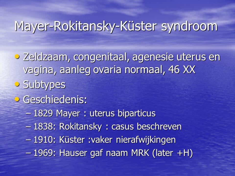Mayer-Rokitansky-Küster syndroom