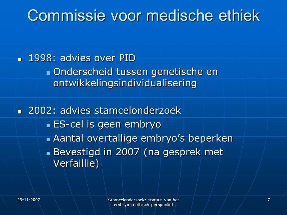 Commissie voor medische ethiek