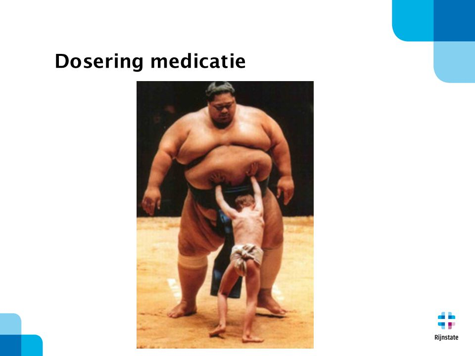 Dosering medicatie
