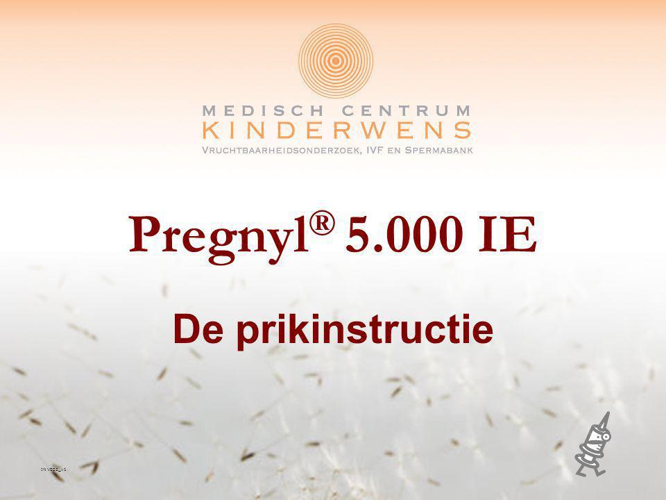 Pregnyl® 5.000 IE De prikinstructie IN V002_v1