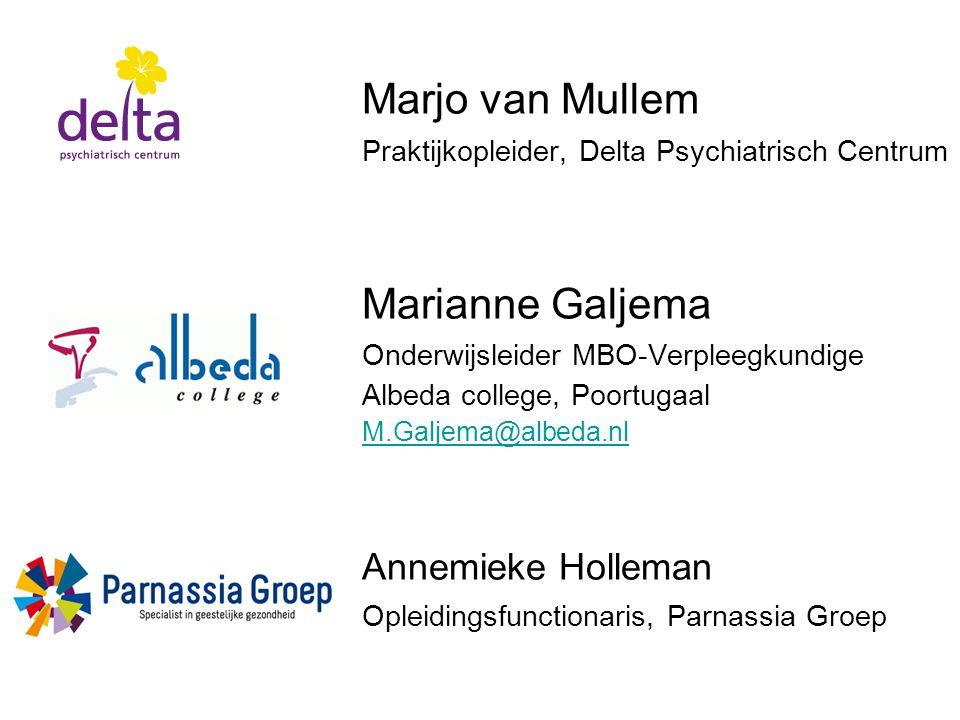 Marjo van Mullem Marianne Galjema Annemieke Holleman