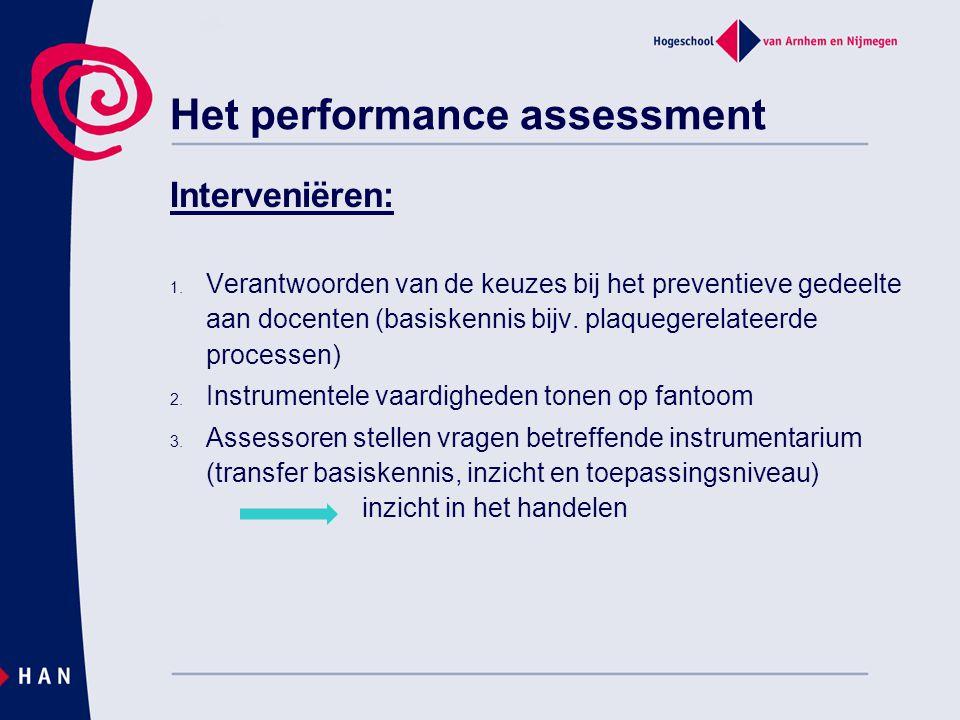 Het performance assessment