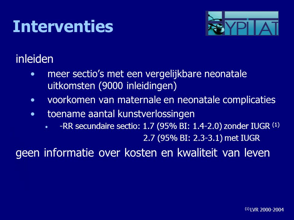Interventies inleiden