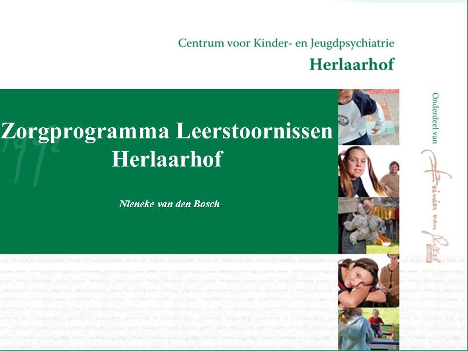 Zorgprogramma Leerstoornissen Herlaarhof