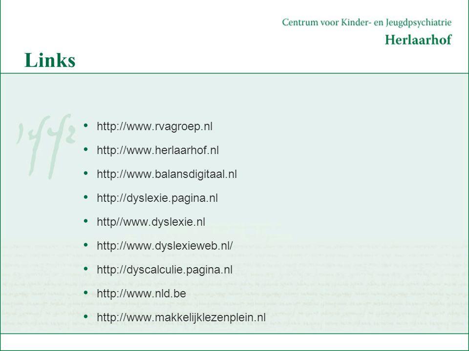 Links http://www.rvagroep.nl http://www.herlaarhof.nl